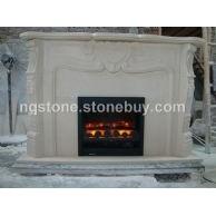 石灰石雕刻壁炉LIMESTONE FIREPLACE