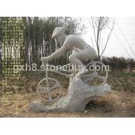 体育雕塑,搂盘房产景观、小区雕塑,旅游景观,城市雕塑,嘉祥石雕
