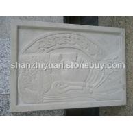 白砂岩浮雕
