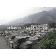 大量批发 华山白麻 工程板 火烧板 路沿石 道沿石 马路牙 石材雕刻