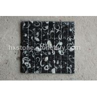 黑色大理石海贝花