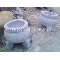 花岗石石香炉