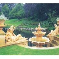 印象石caststone 特石 人造石 水池 喷泉 雕塑