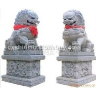 石雕狮子,北京狮,港币狮,献礼狮,网球狮