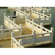 石雕桥栏杆,花岗岩桥栏杆,芝麻白桥栏杆,白麻桥栏杆
