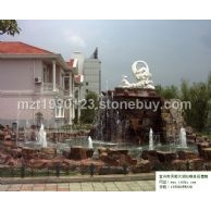 太湖石喷泉