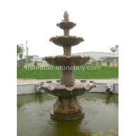 石刻荷花喷泉,莲花喷泉