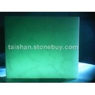 绿玉花纹石板