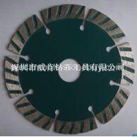 供应深圳威肯分齿波纹片机器锋利性价比高金刚石切割片
