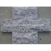 蘑菇石牡丹花