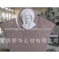 美式墓碑(齐鲁红)