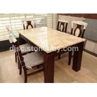 东俊石材-琥珀玉饭桌