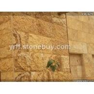 约旦国产黄洞石外墙砖