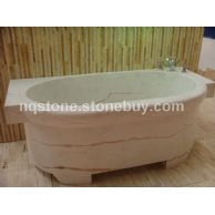 T-013红线玉大理石艺术浴缸(BATH TUB)