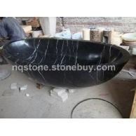 T-009出口英国黑色大理石浴缸(BATH TUB)