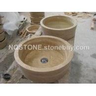 B-026(桶形洞石洗手盆 BASIN)