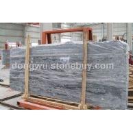 供应:海浪灰荒料 大板 规格板 边角料 毛板 灰色天然大理石