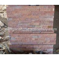 桃红玉文化石 室内装饰石材