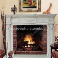壁炉 欧式壁炉 砂岩壁炉
