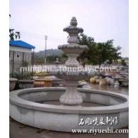 花岗岩石雕喷泉/武汉石雕喷泉