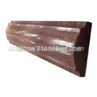 印度红石材线条批发
