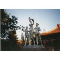 石雕城市雕塑、校园雕塑价格、嘉祥石雕