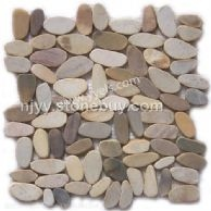 鹅卵石网贴石,雨花石网贴,马赛克网贴,胶粘石