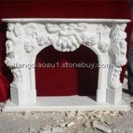 石雕,雕塑,壁炉,欧式壁炉,欧式罗马柱