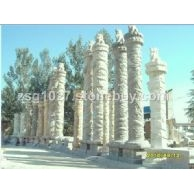 供应各式盘龙柱,景观柱,生肖柱,望柱,华表