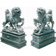 石麒麟 石雕 动物雕刻 园林景观 园林建筑 石狮子