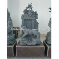 狗十二生肖 石雕 动物雕刻