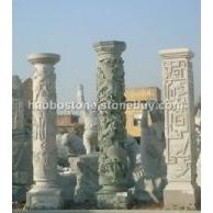 青石石柱 文化柱 广场雕刻 石雕