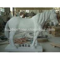 马雕刻 动物雕刻 石雕 园林雕刻