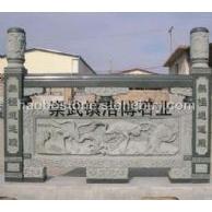 青石栏杆雕刻 雕花栏杆 园林雕刻 建筑材料 建筑雕刻