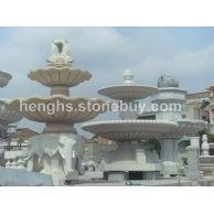 石材石雕喷泉喷水池花钵