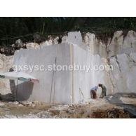 白色大理石矿山