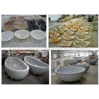 惠安阳光石业承接国内酒店、温泉、度假村石材浴缸、洗手盆等工程