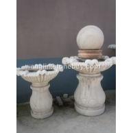 小型石雕喷泉石雕花盆石雕喷水钵跌水钵