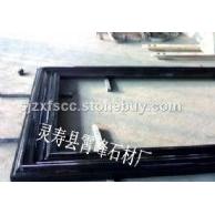 中国黑门框石