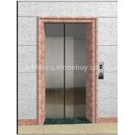 电梯样板--粉红彩玉电梯门套