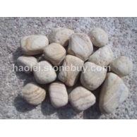 黄木纹鹅卵石