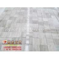 嘉岩石材 自有矿区和工厂 专业生产 贵州白木纹大理石 薄板 305*305