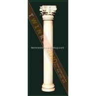 大理石柱子/大理石罗马柱/石材柱子/门柱