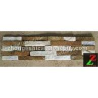 白石英文化石/锈石英文化石|锈白混搭文化石(图)