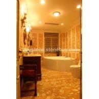 玉贝壳浴室