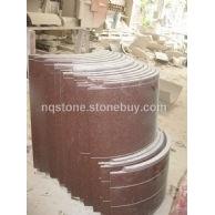 印度红花岗石圆柱GRANITE COLUMN