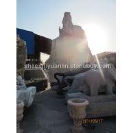 园林雕塑 景观石
