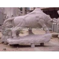 石雕动物,石雕拓荒牛,石雕斗牛