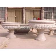 石雕花盆,花钵,花壶