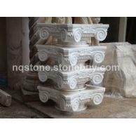 纯手工石材雕刻罗马柱头